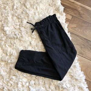 Madewell Utility Style Black Cotton Pants
